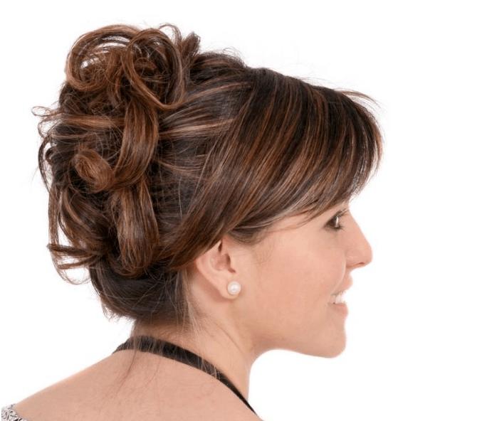 Asymmetrische Hochsteckfrisur Hochsteckfrisuren Fur Lange Und