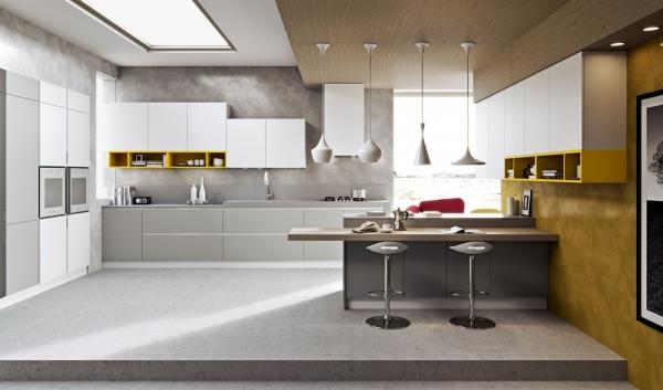 кухня в стиле модерн идеи
