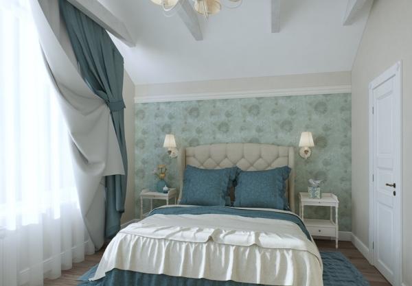 спальня в стиле прованс идеи