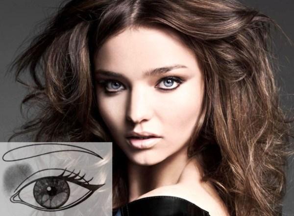 макияж для далеко посаженных глаз