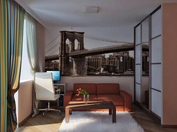 прямоугольная комната стиль