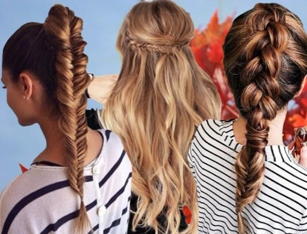 25 первоклассных идей прически в школу на 1 сентября: банты, косы с лентами на длинные и средние волосы (фото)
