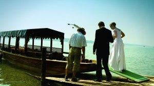Hochzeitsfotograf aus München: Hochzeitsfoto mit Schiff
