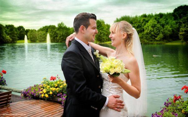 Hochzeitsreportage 12: Romantisches Hochzeitsfoto
