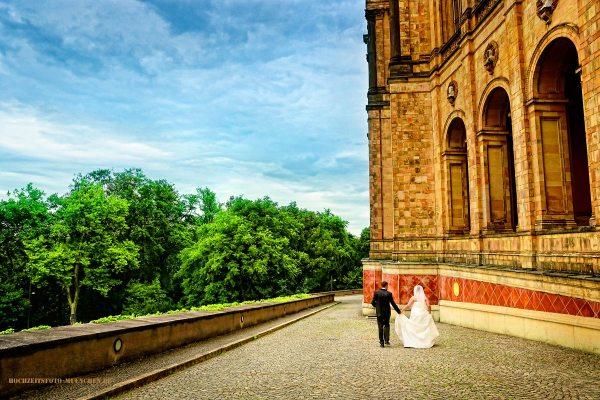 Fotoshooting Hochzeit 11: Hochzeitsfotos am Maximilianeum, München