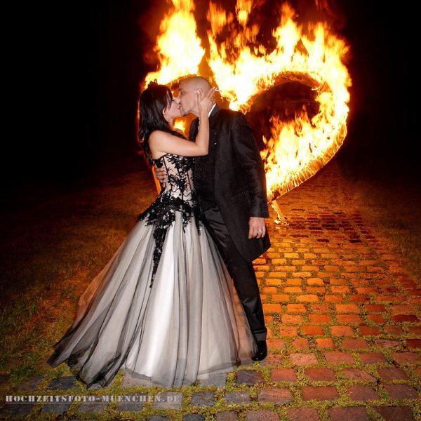 Hochzeitsreportage 24: Brennendes Herz