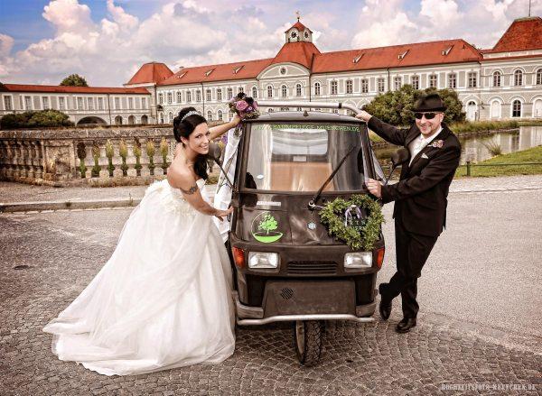 Hochzeitsshooting im Schloß Nymphenburg, München