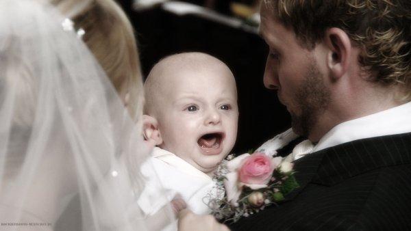 Hochzeitsreportage 16: Baby bei der Trauung
