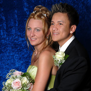Hochzeitsfotograf Preise - Hochzeitsshooting im Studio Wagner