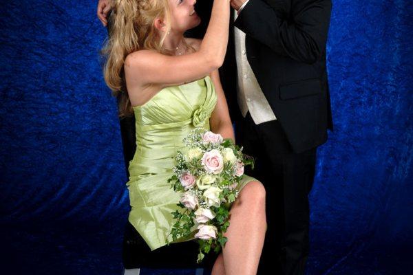 Hochzeitsfotoshooting im Studio Wagner, München