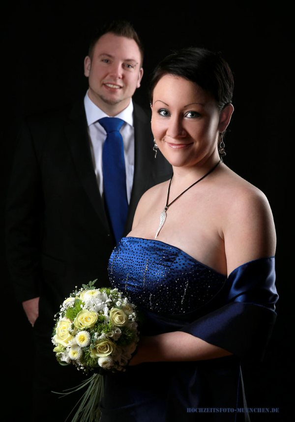 Fotostudio 1: Hochzeit Fotoshooting im Fotostudio Wagner, München