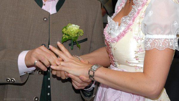 Hochzeitsreportage 07: Ringtausch bei der Trauung