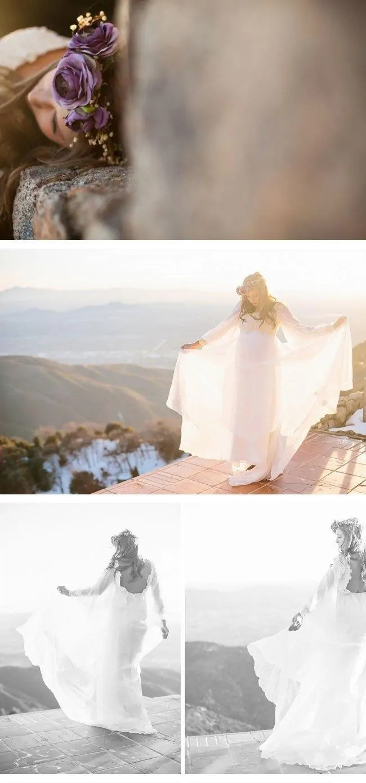 bohemian winter bride6 vintage brautkleid