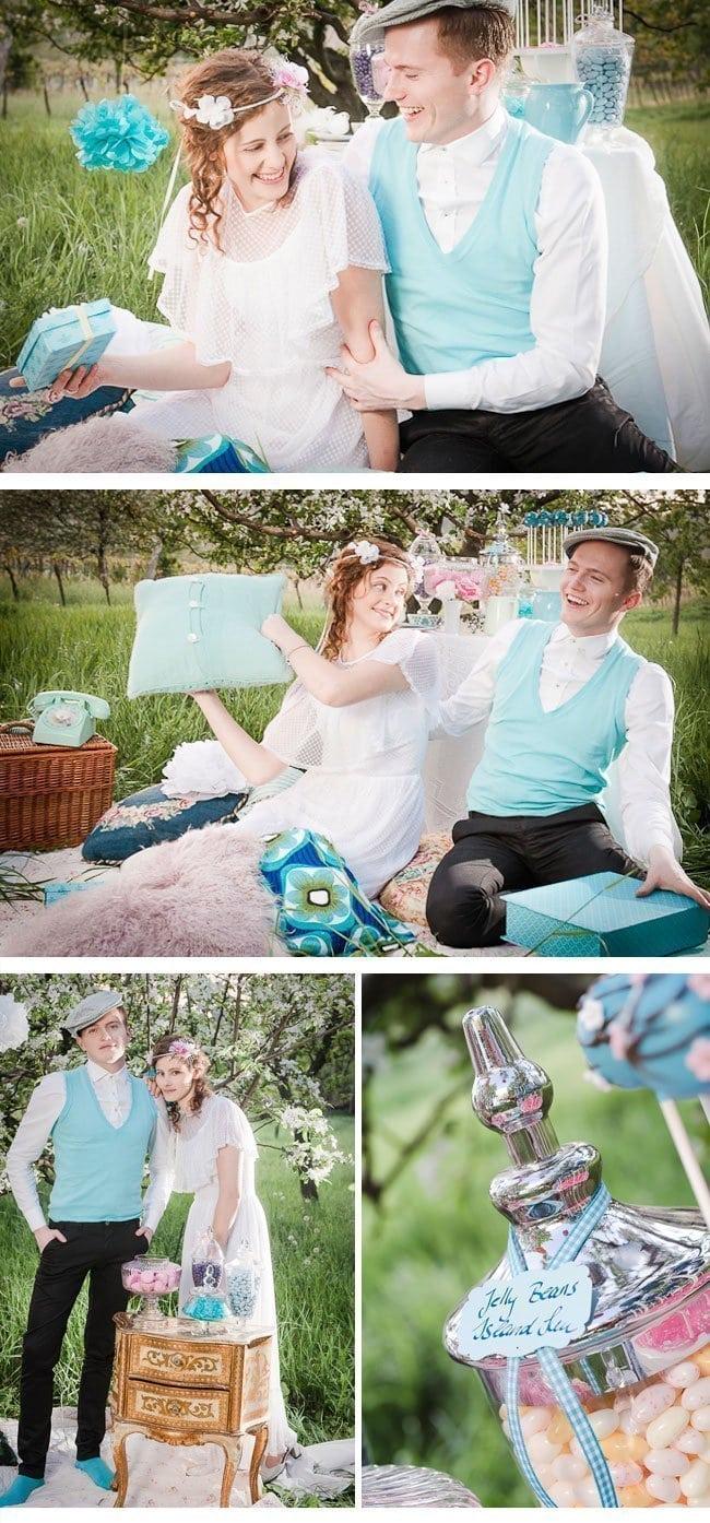 wedding picknick5-vintage styled shoot