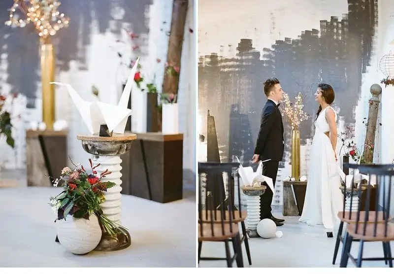 industrial loft wedding inspiration 0007