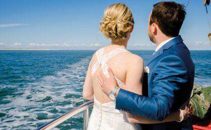 """""""Ja, ich will!"""" Immer mehr Paare trauen sich am Meer,"""