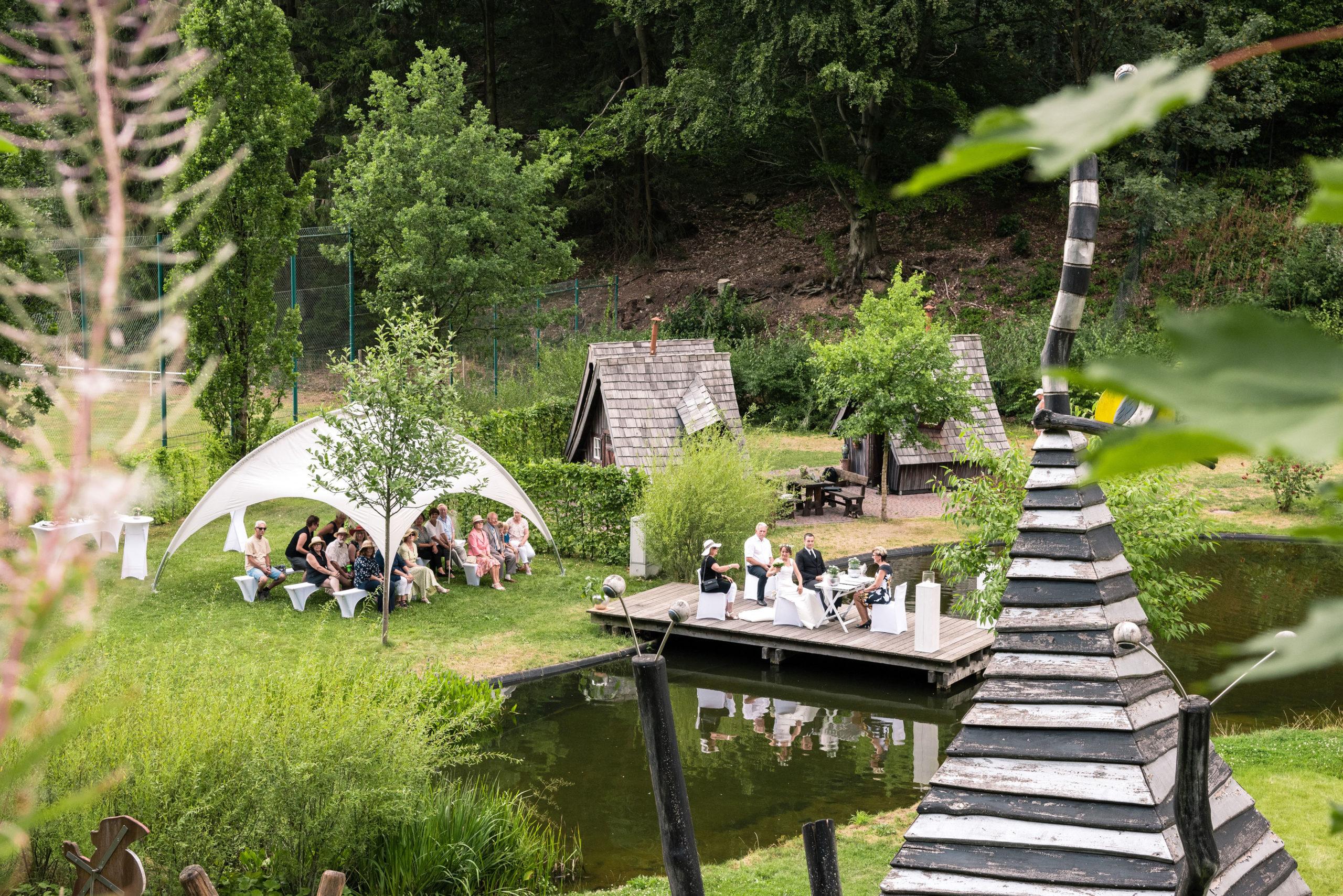 Hochzeit auf dem Harzer-Hexen-Stieg