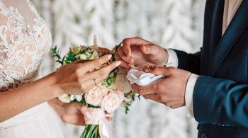 Trauung mit Hochzeitsversicherung