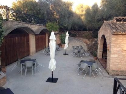 Hochzeitsplanerin heiratet Mallorca Hochzeit Tafel