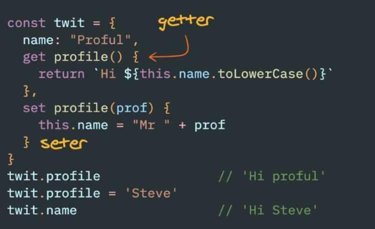 Getter và Setter trong JavaScript