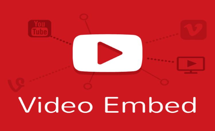 Cách chèn video trên Youtube vào trang web