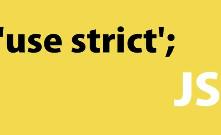 """use strict"" trong JavaScript"