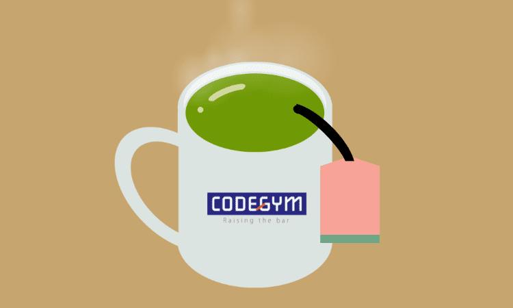 Thưởng thức trà xanh chỉ với HTML và CSS