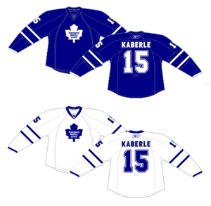 514bc422b65 ... the NHL switched all the their jerseys to the Reebok Edge model,  changing the contours and look of the hockey jersey. Some teams, including  the Leafs, ...