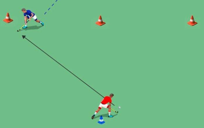 recepciones en hockey hierba
