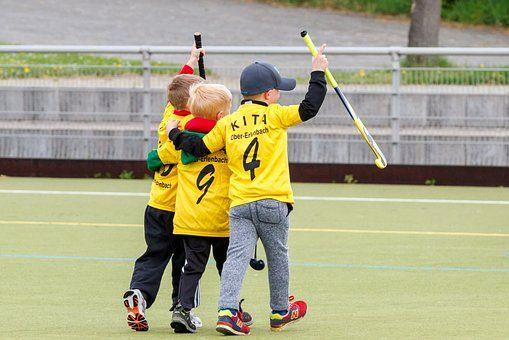 ejercicios de hockey para niños