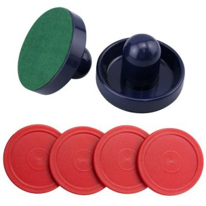 Fantastic zone Set of 2 Air Hockey Pushers and Pucks Review