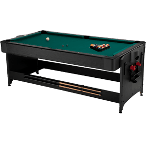 Fat-Cat-7-ft.-Black-Pockey-Table---Billiard-&-Air-Hockey
