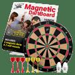 Fun-Adams-Magnetic-Dartboard-16-inch-with-Safe-Precision-Darts