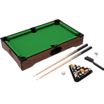Mini Tabletop Pool Set- Billiards Game Includes Game Balls