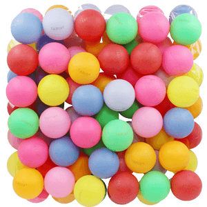 TADICK-Beer-Ping-Pong-Balls-Assorted-Color-Plastic-Ball-50-Pack