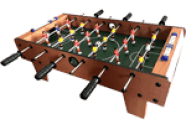 Tabletop Soccer Foosball Table Game