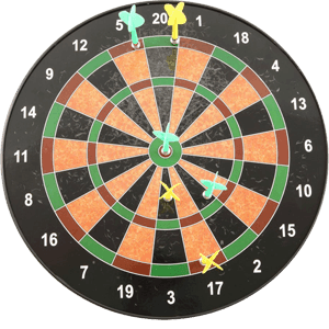 Westminster-2486-16-In.-Magnetic-Dartboard