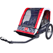 Allen-Sports-Deluxe-2-Child-Steel-Bicycle-Trailer,-Red