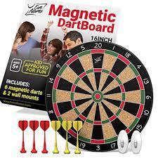 Fun Adams Magnetic Dartboard 16 inch