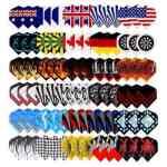 Long Life Durable Wholesale Nylon Dart Flights Sets