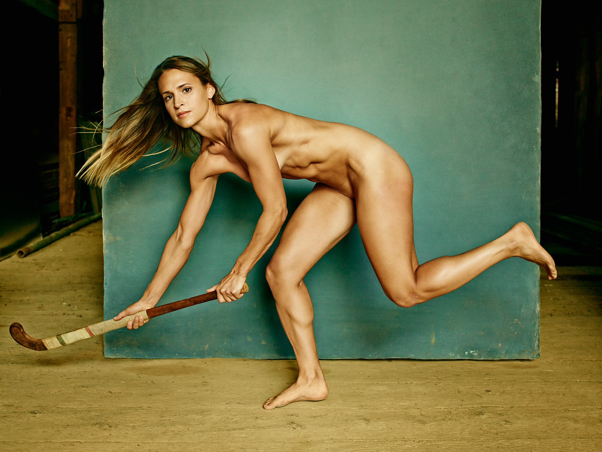 Usa Field Hockey Paige Selenski Poses Nude For Espn Body Issue