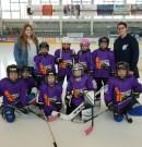 Hockey – U9 – La première équipe féminine Normandie sur la glace de Caen