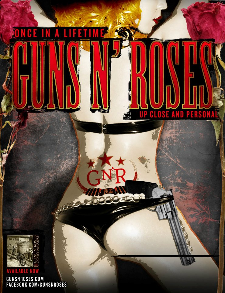 Win ONE (1) ticket to see GnR