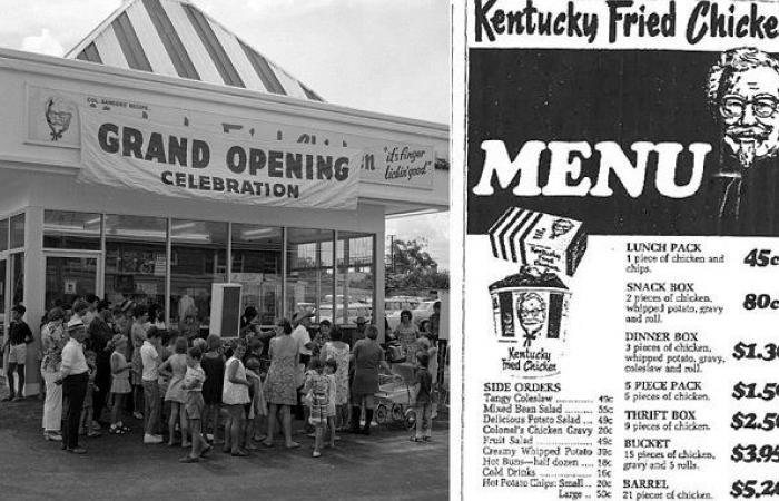 Colonel Sanders - khai trương tiệm KFC