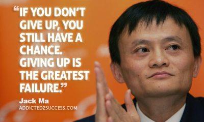 """Jack Ma : """" Từ Bỏ là Thất Bại Lớn Nhất"""""""