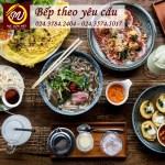 Khóa học bếp theo yêu cầu thương hiệu Học Món Việt