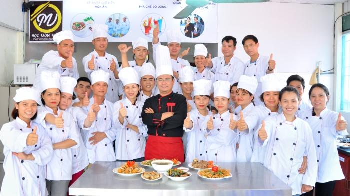 hình ảnh khóa học Bếp Việt cơ bản thương hiệu Học Món Việt