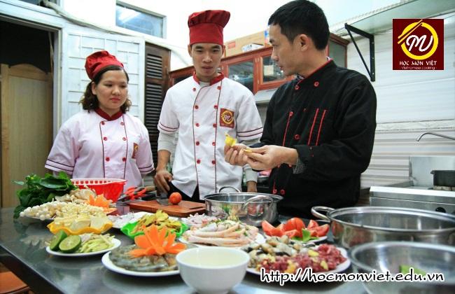 hình ảnh khóa học đầu bếp việt 1 - Học Món Việt