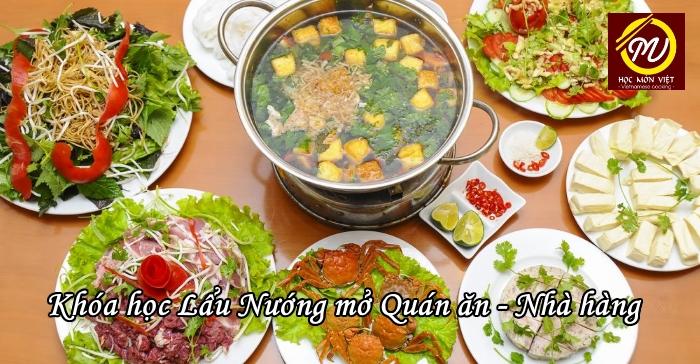 Khóa học Lẩu Nướng mở Quán ăn Nhà hàng - Học Món Việt