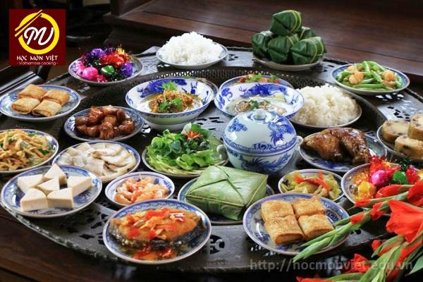 khóa học nấu ăn đầu xuân 2018 - học nấu ăn gia đình - Học Món Việt